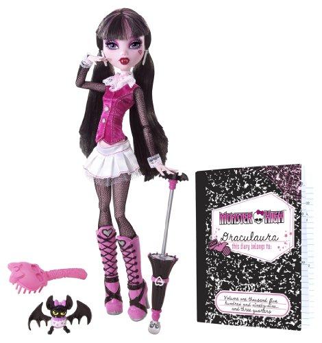 Imagen 2 de Monster High Muñeca, diseño Draculaura (Mattel BBC65)