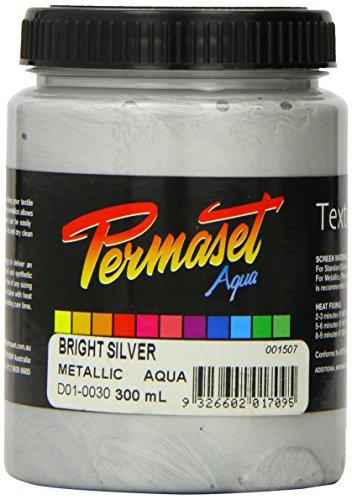 Permaset - Aqua Tinte - für Leinwanddruck - silber hell -