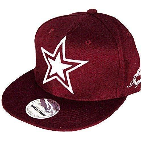 State property étoile Casquettes Snapback, Visière Plate Bordure Hip Hop Hommes Et Femmes Premium Casquettes De Baseball
