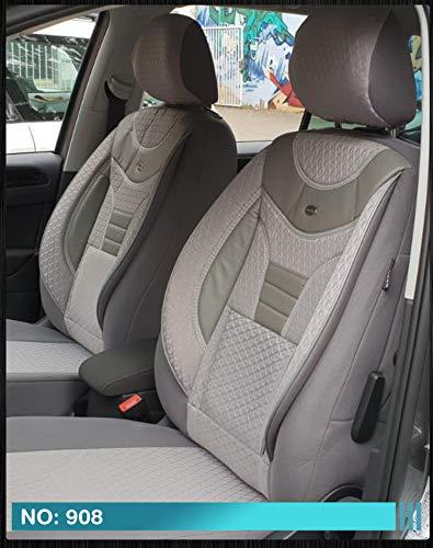 Maß Sitzbezüge Lexus IS XE2 Fahrer & Beifahrer ab BJ 2005-2013 Farbnummer: 908