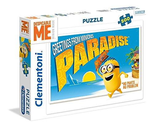 Clementoni - 35030.8 - Puzzle  - Les Minions -  500 Pièces