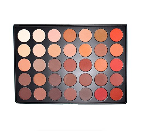 Morphe Brushes - 35OM - 35 Color Matte Nature Glow Eyeshadow Palette (Morphe 35-palette)