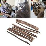 ECMQS 10 stücke Katzenspielzeug Reinigung Zähne Reine Natürliche Katzenminze Snacks
