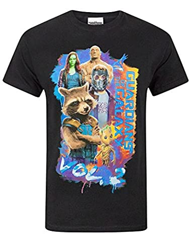 Guardians Of The Galaxy Vol 2 Group Pose Men's T-Shirt