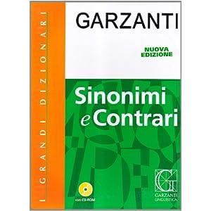 DIZ.SINONIMI-GRANDI N.E. +CD