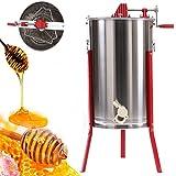 Ridgeyard Cadre en acier inoxydable 3manuel Abeille Miel Easipet Extracteur de miel Apiculture équipement accessoire de l'huile Poignées Modèle