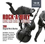 ROCKABILLY - 200 Original Hits and Rarities of Rock And Roll & Hillbilly: Honky Tonk Man, Rockhouse, Get Rhythm, Blue Moon Of Kentucky, .. -