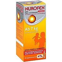 Nurofen Junior Erdbeer 4% Saft, 100 ml preisvergleich bei billige-tabletten.eu