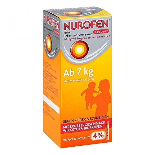 Nurofen Junior Erdbeer 4% Saft, 100 ml