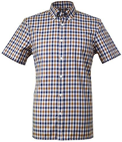 aquascutum-camicia-casual-con-bottoni-uomo-navybrownbeige-medium