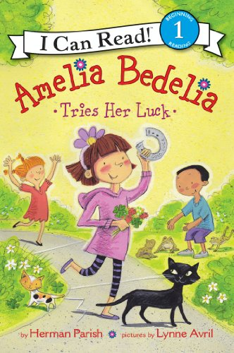 Amelia Bedelia Tries Her Luck (I Can Read Level 1) (English Edition)