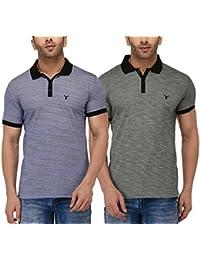 Youthen Cotton Polo Neck T Shirt