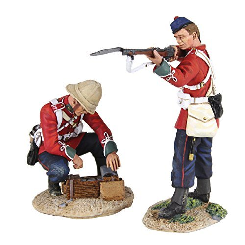w-britain-war-zulu-war-collection-20155-more-ammo-24th-foot-in-glengerry-standing-firing-and-24th-fo