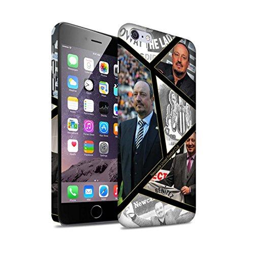 Officiel Newcastle United FC Coque / Clipser Matte Etui pour Apple iPhone 6S+/Plus / Maestro Espagnol Design / NUFC Rafa Benítez Collection Montage