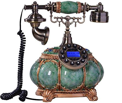 Retro Telefon -Klassischer Metallklingel Elektronischer Klingel -Retro-Design Nostalgie Telefon -für Schlafzimmer, Wohnzimmer, Studie, Büro, Herrenhaus