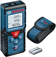 Bosch GLM 40 Professional Laser Measure GLM 40 (with Memory Function, Measuring Range: 0.15 – 40 m, 2 x 1.5 V