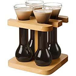 Mini yardas de cerveza con soporte Bar@Drinkstuff 50ml