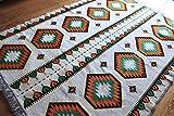 Damaskunst 200x135 cm Orientalischer Teppich, Kelim,Kilim,Carpet,Bodenmatte,Bodenbelag,Rug S 1-4-78