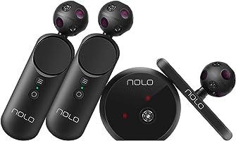 Manettes et détecteur de mouvements pour Casque ou Lunettes de réalité virtuelle Compatible avec Smartphones, PC et SteamVR Play