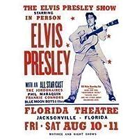 Poster concerto Elvis Presley da 40 x 30 cm