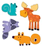 Moose & Friends Temporary Tattoos