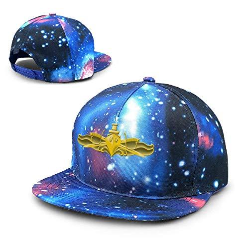 htrewtregregre Sternenhimmel HutUS Navy Surface Warfare Officer Logo Baseball Hat Adjustable Sun Cap Hip Pop Hat - Officer Baseball