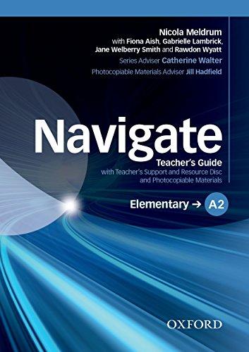 Navigate Elementary A2 : Teacher's Guide (1Cédérom)