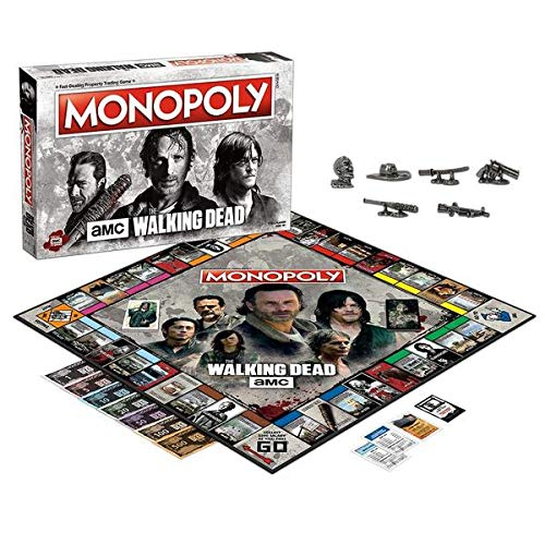 Winning Moves Monopoly - The Walking Dead Merchandising