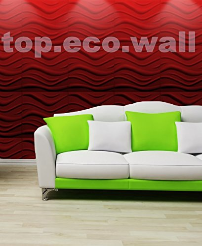 3D WALL CEILING PANELS POLYSTYRENE TILES (Pack of 100) 25 Sqm - WAVE 3D