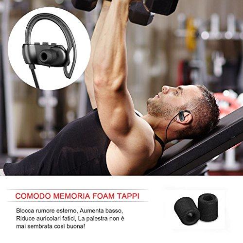 yobola Standby Ultra Lungo Auricolare Wireless Bluetooth ... 12872059be81