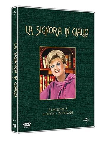 La signora in gialloStagione05 [6 DVDs] [IT Import] (05 Berg)