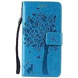 Nancen Tasche Hülle für LG Nexus 5X (5,2 Zoll) Flip Schutzhülle Zubehör Lederhülle mit Silikon Back Cover PU Leder Handytasche im Bookstyle Stand Funktion Kartenfächer Magnet Etui Schale