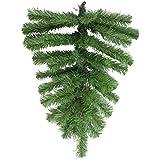 "Northlight Pine Teardrop Artificial Christmas Swag, 22"", Green"