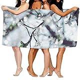 "rongxincailiaoke Strandtücher Handtücher Bath Towel Soft Big Beach Towel 31""x 51"" Unique Soft Swimming Creative Illustration Pattern Design -"