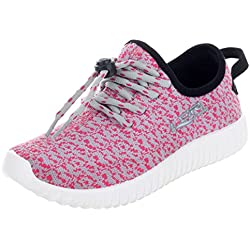 Lancer Women's Grey Pink Sport Shoe - 38