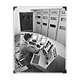 10x8 Print of BBC Transmitter Control Desk JLP01 05 01 087 (11500985)
