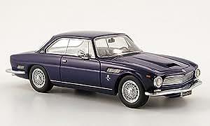 ISO Rivolta GT, bleu foncé, 1962, voiture miniature, Miniature déjà montée, Neo 1:43