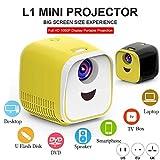REES52 L1 Children Projector Mini LED Portable Home Speaker Projector