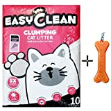 #5: Goofy Tails Easy Clean Lavender Scent Cat Litter (8kg, Pack of 1) With Key Chain