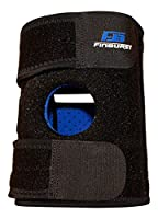 FinBurst Knee Brace - Top Rated Knee Support on Amazon - Best for Arthritis, ACL, MCL, Meniscus, Joint Pain & more - Satisfaction Guaranteed