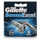 Gillette - Sensor excel cargador 5 uds