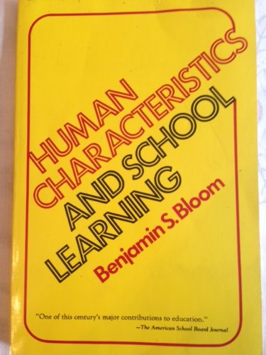 Human Characteristics and School Learning