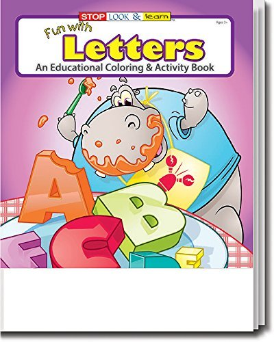 Fun With Letters Kid's Coloring & Activity Book in Bulk (25-pack)