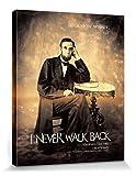 1art1 Abraham Lincoln - Cammino Lentamente, Ma Non Cammino Mai Volto All'Indietro Stampa su Tela (50 x 40cm)