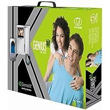 Comelit–Kit con un usager en colores con monitores Genius y placa de calle Idea Comelit–8481