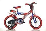 """Dino Bikes - Bici Bicicletta Uomo Ragno Spiderman Movie 16"""" Nuovo Modello 2014"""