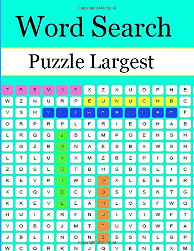 Word Search Puzzle Largest: Finds Puzzle Book specialwe have cooked up to satisfy your