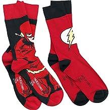 The Flash Logo Calcetines rojo/negro