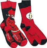 The Flash Logo Chaussettes rouge/noir