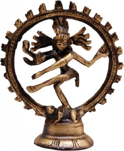 Two Moustaches Two Moustaches Brass Nataraja Showpiece | Home Decor |